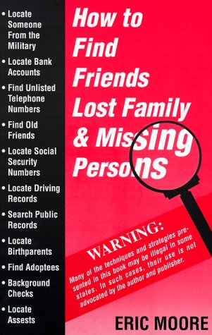 How to Find Friends Lost Family and Missing Persons