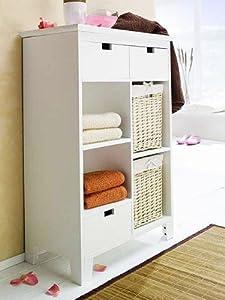 badezimmerschr nke wei. Black Bedroom Furniture Sets. Home Design Ideas