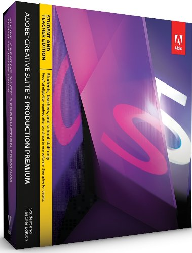 Adobe Creative Suite 5 Production Premium, Student and Teacher Version (PC)