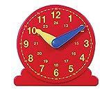 Betzold Lernuhr, Mathematik, Arbeitsmaterial Uhrzeiten, Demonstrationsuhr, Durchmesser 13 cm von Betzold