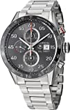 Tag Heuer Carrera Calibre 1887 Automatic Chronograph Grey Dial Stainless Steel Mens Watch…