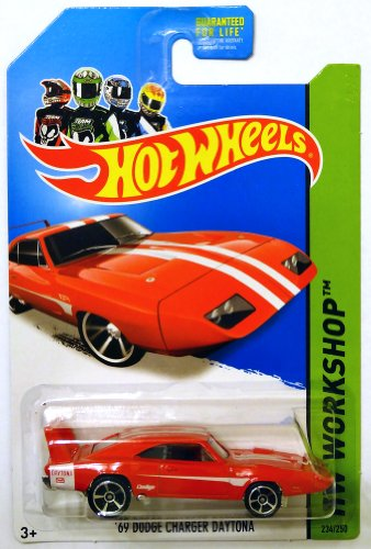 Hot Wheels HW Workshop '69 Dodge Charger Daytona 234250 2014