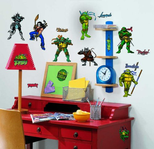 Teenage Mutant Ninja Turtle Peel & Stick Wall Decals