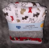 Carter's Super-Comfy Undies Boys Briefs, 3 pack,Dog/Grey/Monkey