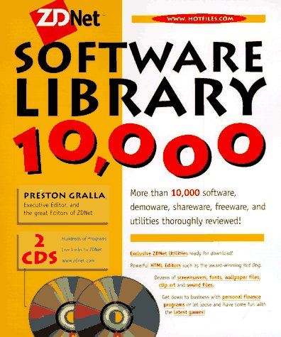 ZDNet Software Library 10,000 [With (2) Contains Internet Tools, Board Games, Cache...]
