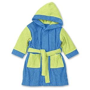 Sterntaler, Albornoz para los niños, 1-2 años, Azul (azul / grün)