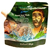 FORTUNE Dead Sea Facial Mud Mask: Natural Mineral Black Mud Purifying Exfoliating Moisturising Skin Hydrating Cleansing Tightining Pores Anti Acne Blemish Anti Ageing 300g
