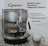 Capresso Stainless Steel Espresso & Cappuccino Machine