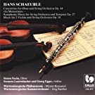 Hans Schaeuble : Concertino for oboe /Symphonic music /Music for 2 violins