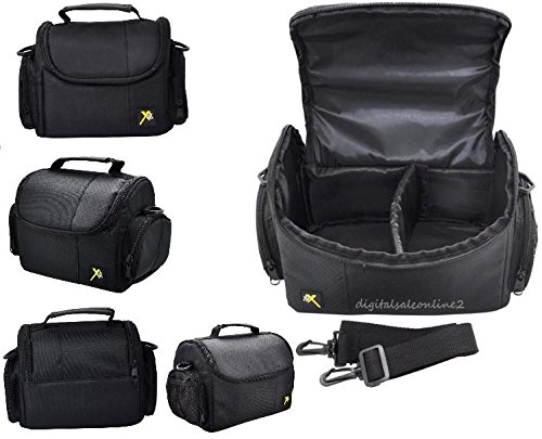 Xit Compact Camera Carrying Case For Canon PowerShot SX710 SX700 SX610 SX600 SX540 SX530 SX520 SX500 SX420 SX410 SX400 IS SX280 SX170 SX160 SX60 SX50 SX40 HS SX30 SX20 (Canon Sx600 Hs Camera compare prices)