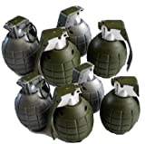 Lot of 8 Kids Toy B/o Grenades for Pretend Play