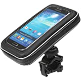 iKross Universal Waterproof Bicycle Bike Mount Phone Holder Pouch Case for iPhone 6s Plus 6s 6 5s 5 and most Smartphones up to 5.5-inch