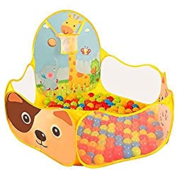BATTOP Portable Kids Ball Pit Pool Tent With Tote Bag For Indoor and Outdoor