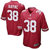 Men's San Francisco 49ers Jarryd Hayne Nike Game Jersey (Scarlet Red, Medium)