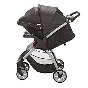Safety 1st Amble Luxe Travel System with Onboard 35 Infant Car Seat, Gentle Lace