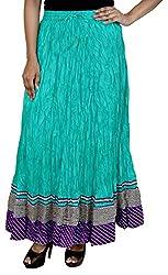 Rangreja Women's Skirt (WESK101SGPU38_Green_38)