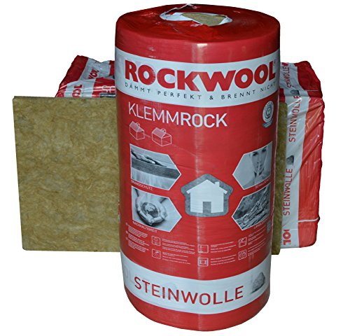 Rockwool Klemmrock 240mm 2qm Dachdämmung Klemmfilz Isolierung WLG 0,35