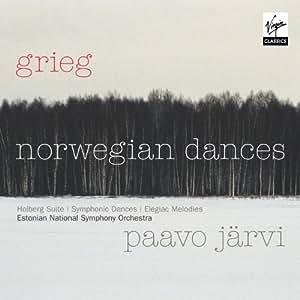 Edvard Grieg : Danses norvégiennes, danses symphoniques, suite - Jarvi