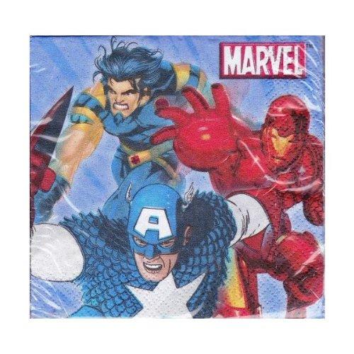 Marvel Heroes Dessert Napkins 16 Count