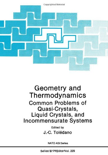 Geometry And Thermodynamics: Common Problems Of Quasi-Crystals, Liquid Crystals, And Incommensurate Systems (Nato Science Series B:)
