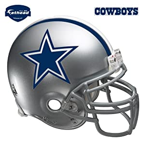 Amazon.com : Fathead Dallas Cowboys Helmet Wall Decal : Sports Fan