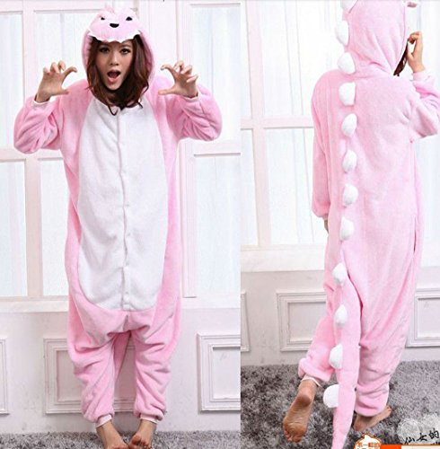 Animal Cosplay Costume Dinosaur Onesies Unisex-adult Pajamas Cartoon Sleepwear