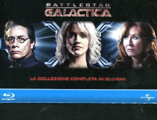 Battlestar Galactica (collezione completa) [Blu-ray] [IT Import]