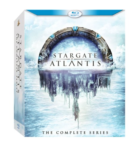 Stargate Atlantis: The Complete Series [Blu-ray] [Alemania]