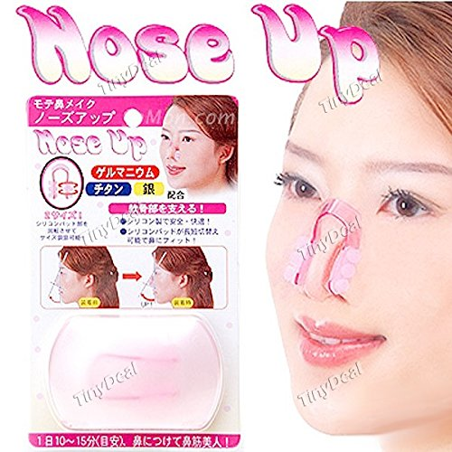 Magic Plastic Nose up Clip Nose Lifting Shaping Clip Clamp Beauty Item for Women Lady - Color Assorted HBI-115281