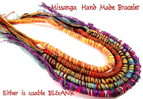 3 book set round crochet hemp bracelets アミーゴブレス one-size-fits-all bracelet anklet 3-5461.