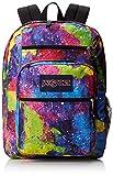 JanSport Big Student Backpack - Multi Neon Galaxy / 17.5H x 13W x 10D