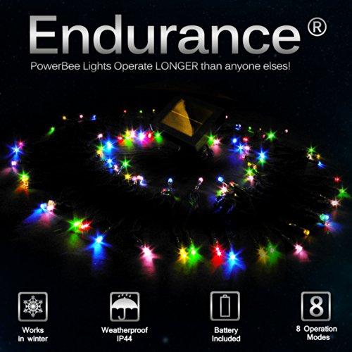 powerbee-r-endurance-deluxe-solar-fairy-lights-100-multi-colour-quality-superbright-leds-multi-funct