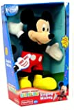 Disney Mickey Mouse Clubhouse 12 Inch Plush Figure Singing Mickey