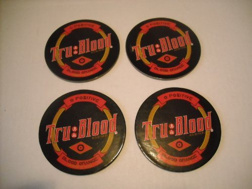 True Blood Logo Coasters Pack of 4 (True Blood Pack compare prices)