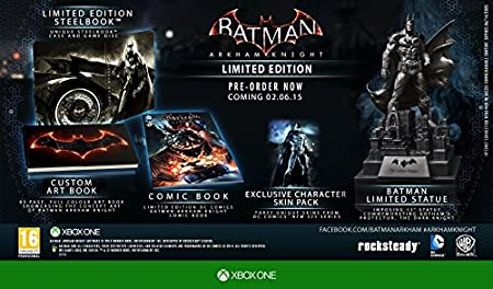 Batman Arkham Knight - Amazon.co.uk Exclusive Limited Edition (Xbox One)