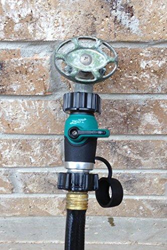 garden hose to hose shut off valve arthritis friendly faucet extension erg ebay