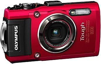 """Olympus Tough TG-4 Appareil photo numérique 16,76 Mpix Écran 3"""" Zoom Optique 4 x Rouge"""