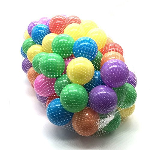 Seasky-Plastic-Play-Pit-Balls-100-Piece-27-Inch-Assorted-Colours