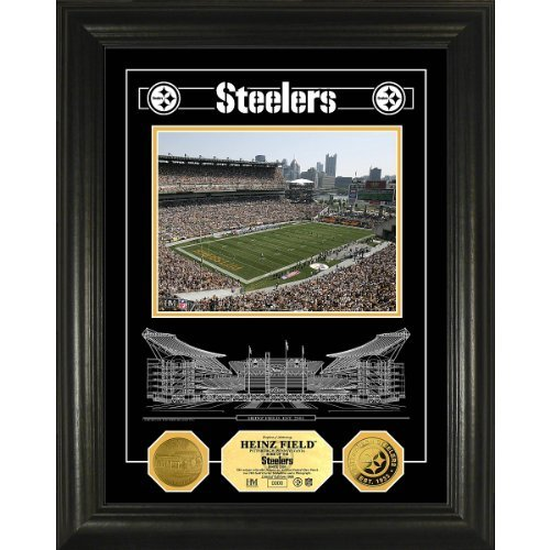 Highland Mint Pittsburgh Steelers Heinz Field Gold Photomint