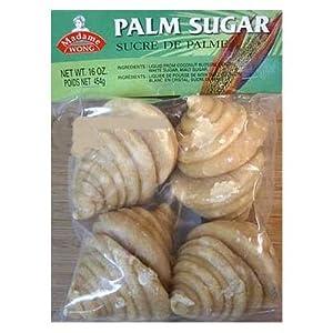 Thai Palm Sugar - Madame Wong brand, 16 oz package