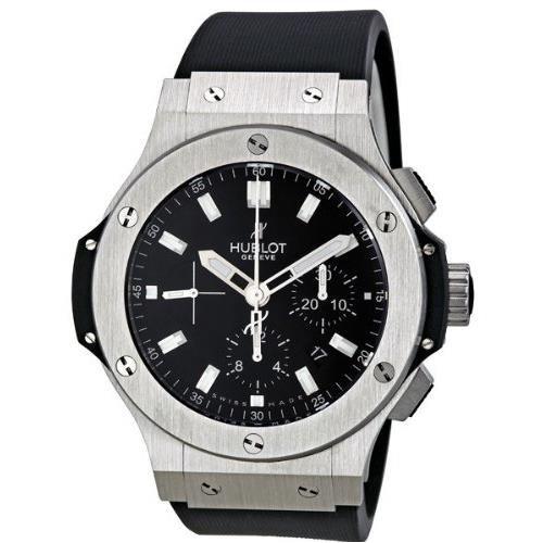 hublot-homme-44mm-bracelet-caoutchouc-noir-boitier-acier-inoxydable-automatique-montre-301sx1170rx