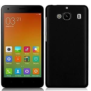 Premium Hard Back Cover Case For XiaomiRedmi2/ Redmi 2 Prime (Black) : by Fashion Case(TM)