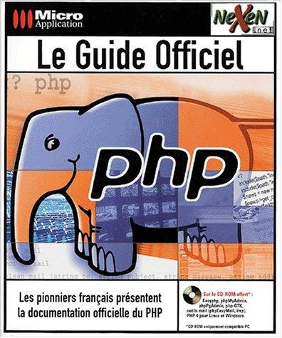 le-guide-officiel-php-livre