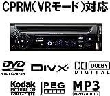 Jericho J-173F 1DINインサイズ CPRM DivX対応 12V/24V両対応 車載用DVDプレーヤー FMトランスミッター/SDカード/USBスロット搭載