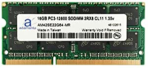 Adamanta 16GB (1x16GB) Laptop Memory Upgrade for