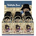 Traditional Paddington Bear Bean Toy With Blue Coat And Black Hat 11cm In A Gift Bag Pa0508