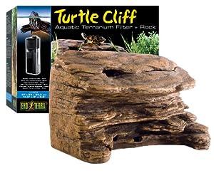 Amazon Com Exo Terra Turtle Cliff Aquatic Terrarium