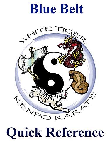 White Tiger Kenpo Blue Belt Quick Reference on Amazon Prime Video UK