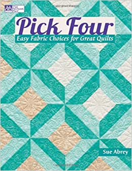 Quilt Patterns 4 Different Fabrics : Flip to back Flip to front