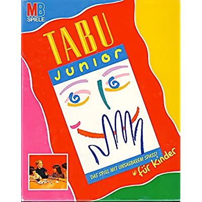 Hasbro Tabu Junior als Geschenk